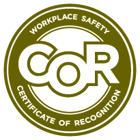 COR (Certificate of Recognition) Logo